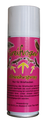 Greifvogel abwehrsray